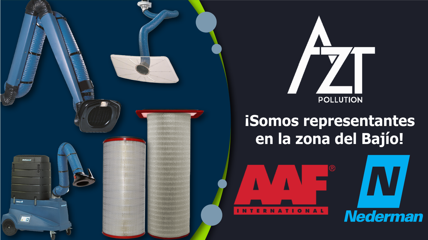 Representantes AAF International y Nederman