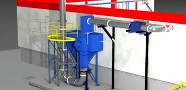 Diseño de proyecto de filtración de aire industrial